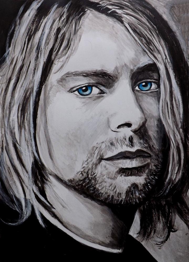 Kurt Cobain by velvetdressx